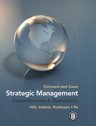 9781439042304: Strategic Management: Concepts and Cases, Competitiveness & Globalization