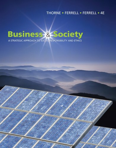 9781439042311: Business and Society: A Strategic Approach to Social Responsibility (Available Titles CourseMate)