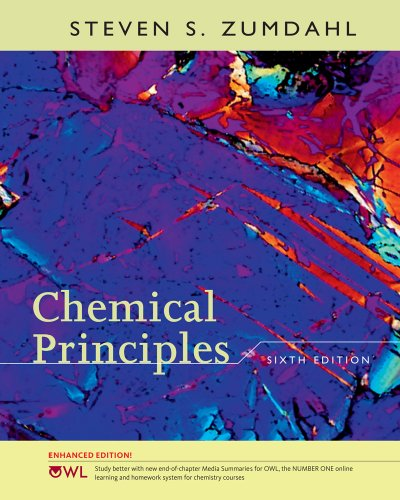 9781439043981: Chemical Principles, Enhanced Edition (Available 2010 Titles Enhanced Web Assign)
