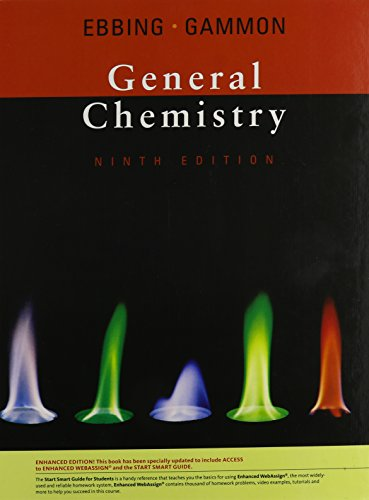 9781439043998: General Chemistry, Enhanced 9th Edition (with Enhanced WebAssign with eBook Printed Access Card)