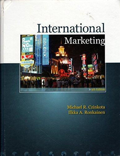 9781439044469: International Marketing (Book Only)