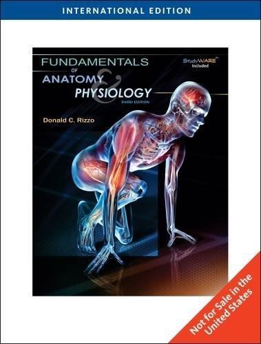 9781439044582: Fundamentals of Anatomy & Physiology, International Edition