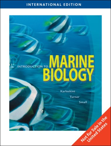 9781439045558: Introduction to Marine Biology: 3rd Ed. International Ed. (Introduction to Marine Biology)
