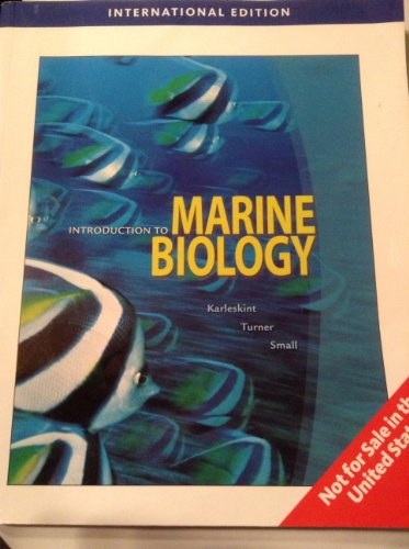 9781439045558: Introduction to Marine Biology