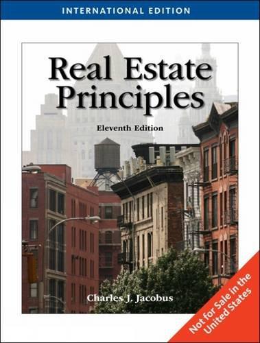 9781439045916: Real Estate Principles, International Edition