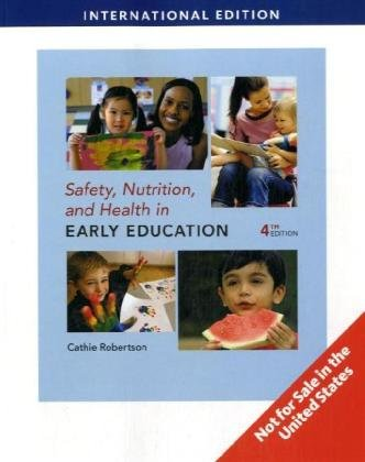 9781439046203 Safety Nutrition And Health In Early Education