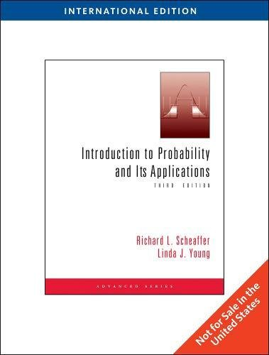 9781439047262: Introduction to Probability and Its Applications, International Edition