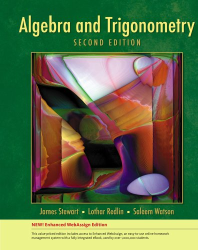 9781439047309: Algebra and Trigonometry, Enhanced Edition (Available 2010 Titles Enhanced Web Assign)