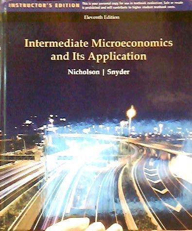 9781439047651: Intermediate Microeconomics and Its Applications
