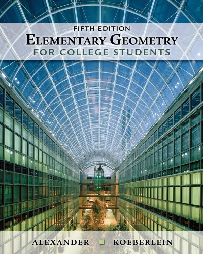 9781439047903: Elementary Geometry for College Students