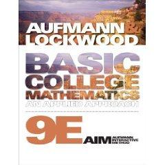 Aie Basic Coll Math 9e: Aufmann Lockwood
