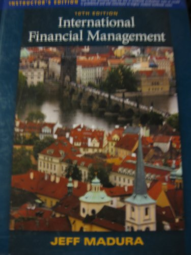 9781439048184: International Financial Management Intructor's Edition