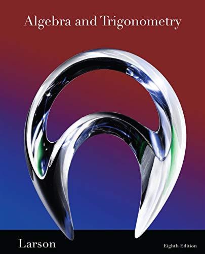9781439048474: Algebra and Trigonometry, 8th Edition