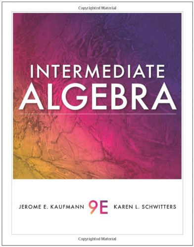 9781439049006: Intermediate Algebra