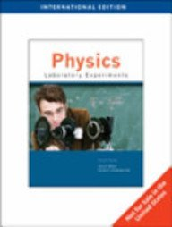 Physics Laboratory Experiments 7th Edition: Jerry D. Wilson,