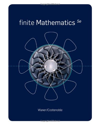 9781439049242: Finite Mathematics (Available 2011 Titles Enhanced Web Assign)