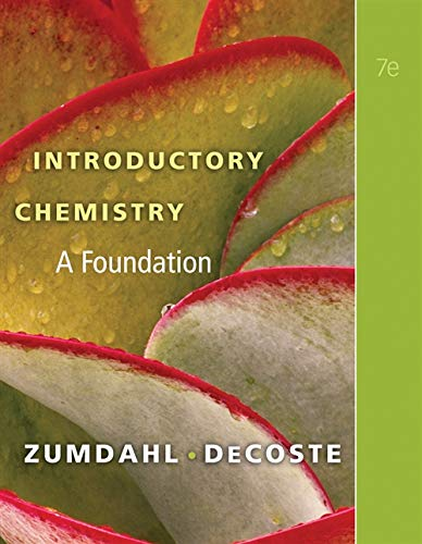 9781439049402: Introductory Chemistry: A Foundation (Available Titles Owl)