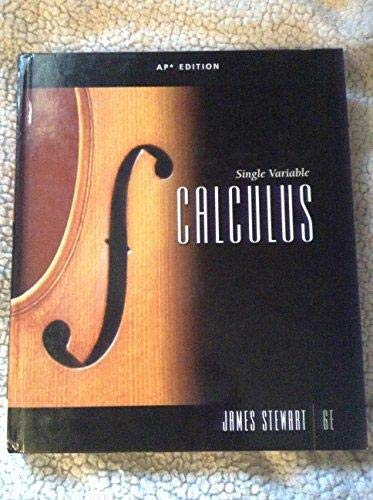9781439049518: Single Variable Calculus, AP Edition