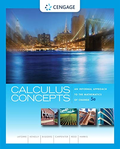 9781439049570: Calculus Concepts: An Informal Approach to the Mathematics of Change (Textbooks Available with Cengage Youbook)
