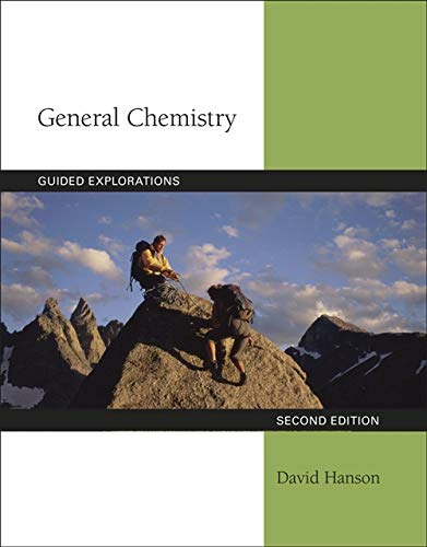 9781439049655: Guided Explorations in General Chemistry