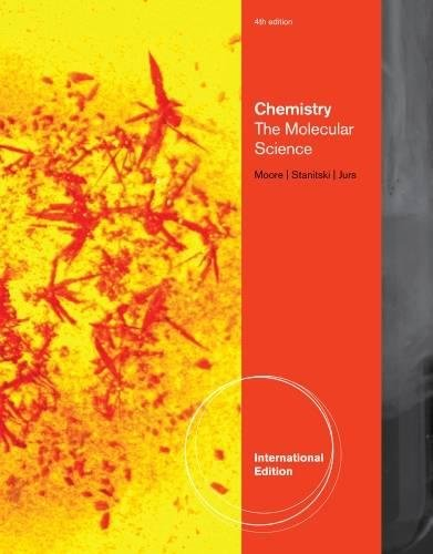 9781439049662: Chemistry: The Molecular Science