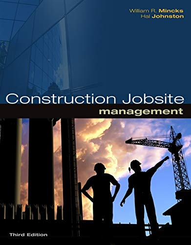 9781439055731: Construction Jobsite Management