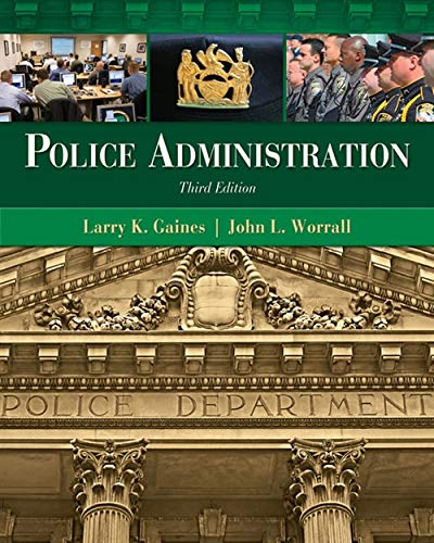 9781439056394: Police Administration