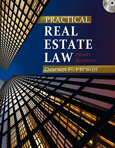 Practical Real Estate Law: Hinkel, Daniel F.