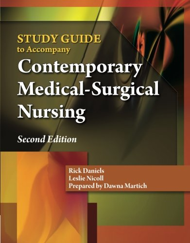 9781439058633: Study Guide for Daniels/Nosek/Nicoll's Contemporary Medical-Surgical Nursing, 2nd
