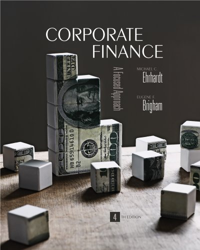 9781439078112: Corporate Finance: A Focused Approach (Book Only)