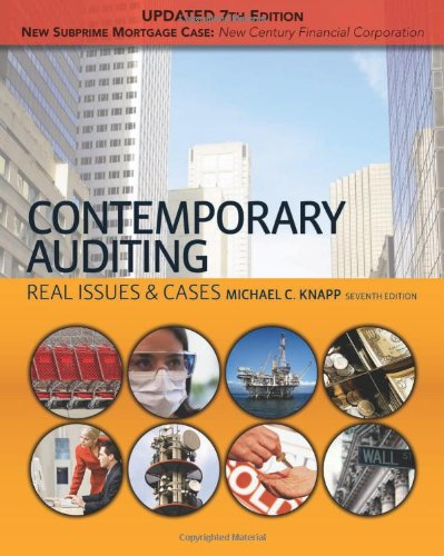 9781439078198: Contemporary Auditing: Real Issues & Cases, Update