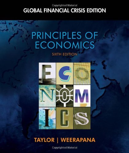 9781439078204: Principles of Economics: Global Financial Crisis Edition (with Global Economic Watch GEC Resource Center Printed Access Card) (Available Titles Aplia)