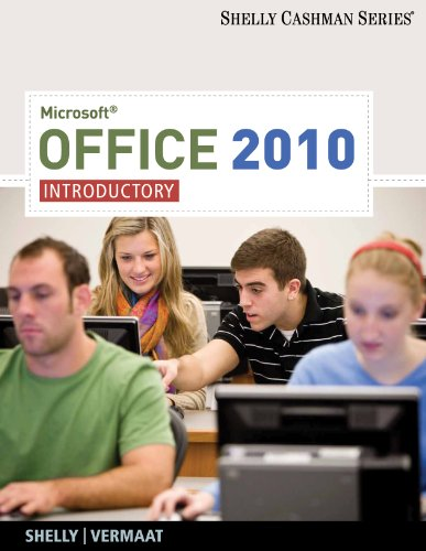 9781439078419: Microsoft Office 2010: Introductory (Shelly Cashman Series)