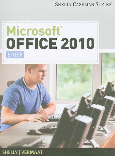 9781439078433: Microsoft Office 2010: Brief (Shelly Cashman Series Office 2010)