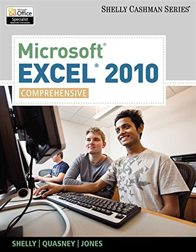 9781439079010: Microsoft Excel 2010: Comprehensive (SAM 2010 Compatible Products)