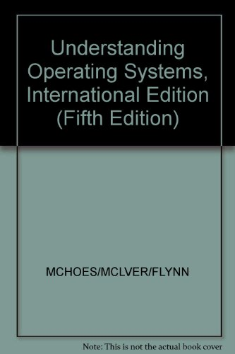 9781439080115: Understanding Operating Systems