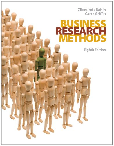 Business Research Methods, 8th Edition (with Qualtrics: Zikmund, William G.;