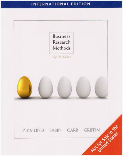 9781439080702: Business Research Methods