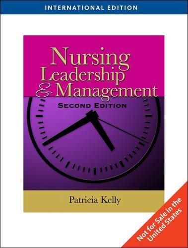 9781439080801: Nursing Leadership & Management (Second Edition)