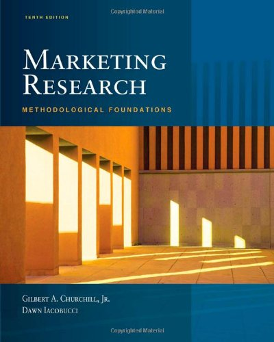 9781439081013: Marketing Research: Methodological Foundations