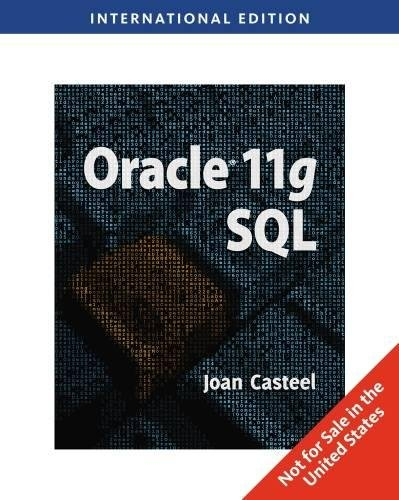 9781439081242: Oracle 11G: SQL, International Edition (Computers)