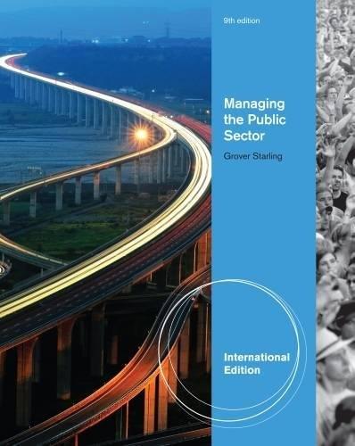9781439081457: Managing the Public Sector, International Edition