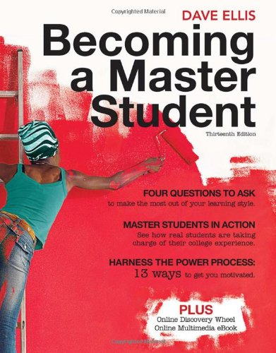 9781439081747: Becoming a Master Student