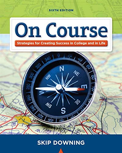9781439082171: On Course: Stategies for Creating Success in College and in Life (Textbook-specific CSFI)