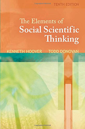 9781439082423: The Elements of Social Scientific Thinking