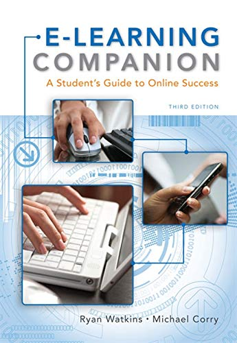 9781439082454: E-Learning Companion: A Student's Guide to Online Success (Available Titles CourseMate)