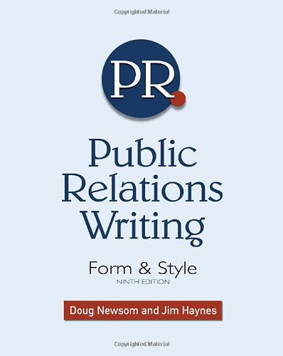 9781439082720: Public Relations Writing: Form & Style