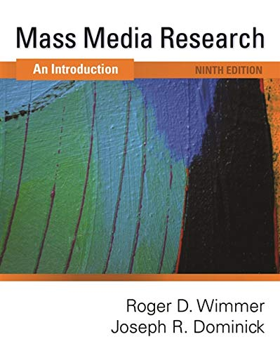 9781439082744: Mass Media Research: An Introduction