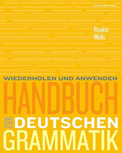 9781439082782: Handbuch zur deutschen Grammatik