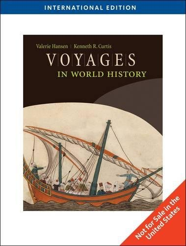 9781439083109: Voyages in World History, International Edition